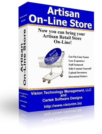 Artisan on-Line Store Flyer
